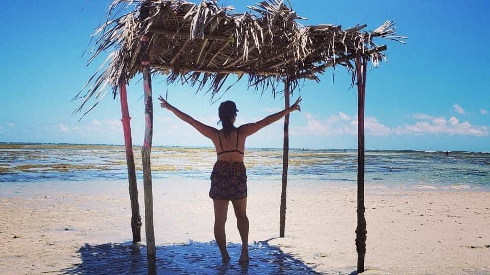 Praias na ilha de boipeba