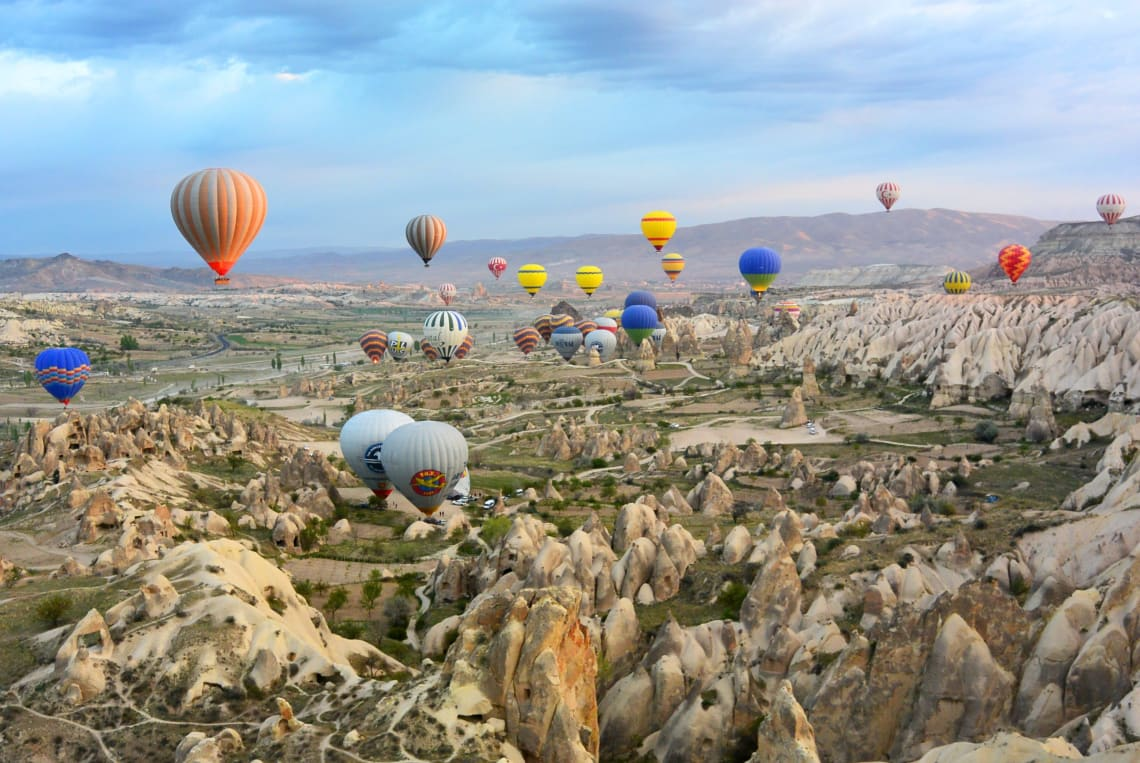 Places to travel in your 20's on a budget: Turkey