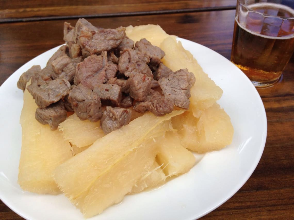 Comida nordestina do Recife