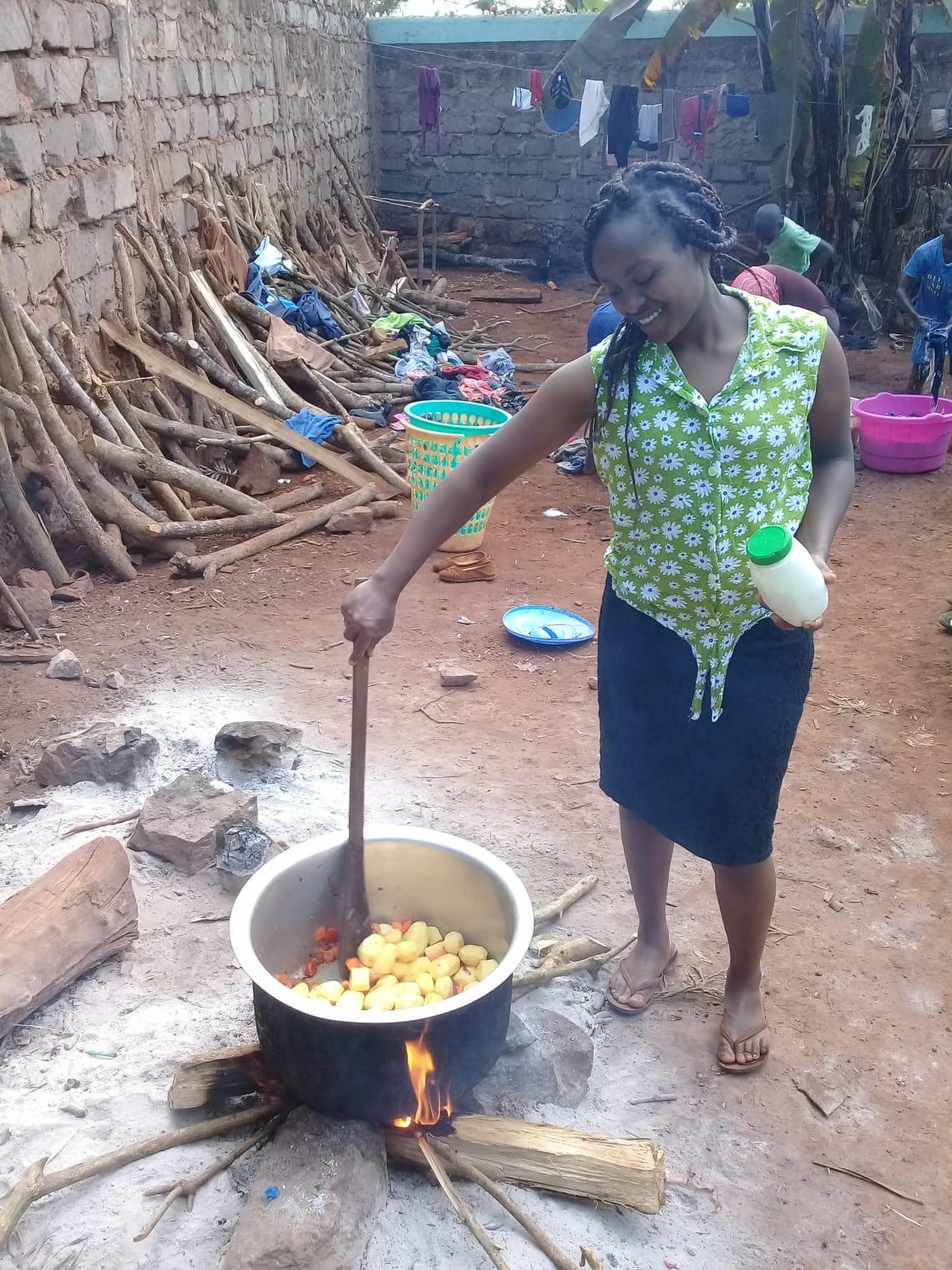 Ser voluntário no Quênia e aprender sobre outras culinárias