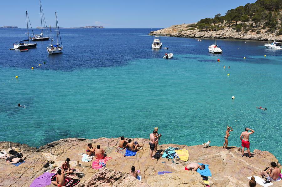 Cala Salada, Ibiza, Espanha