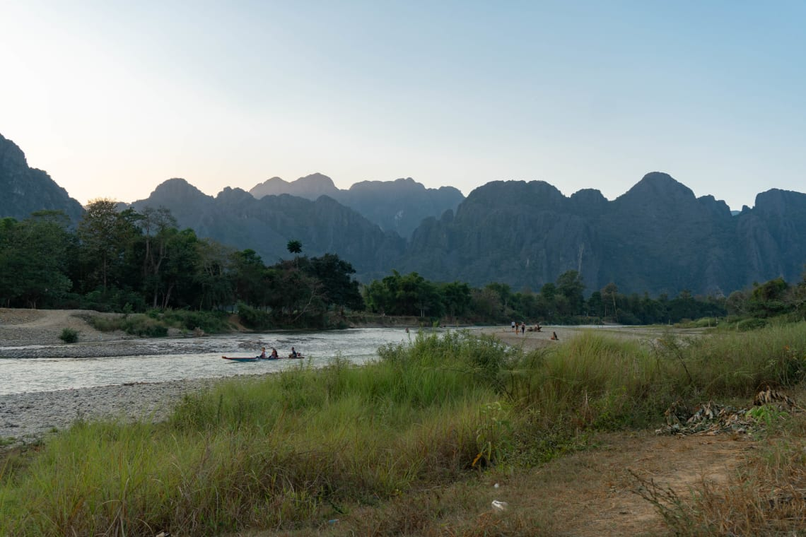 Hacer la ruta del Mekong: Laos, Camboya y Vietnam - Worldpackers - Vang Vieng en Laos