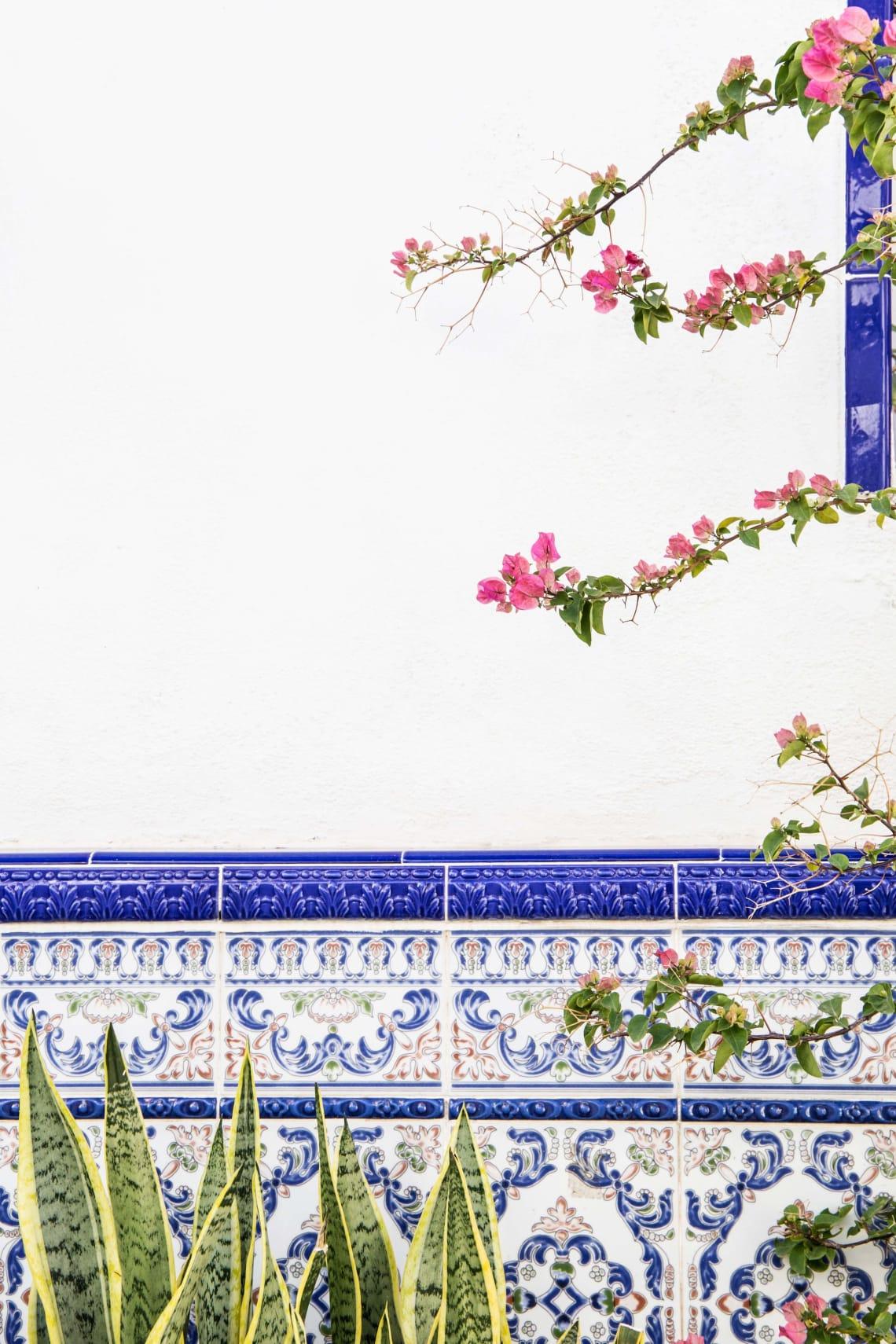 Tile detail, Spain