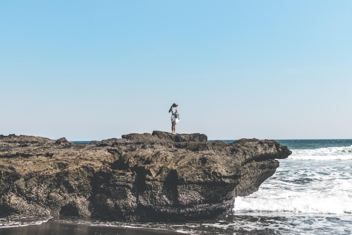 Solo female traveler in Bali, Indonesia