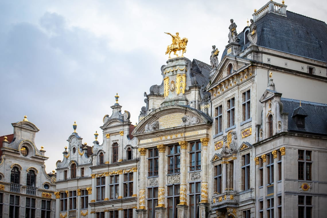 Places to visit in Brussels: Grand Place