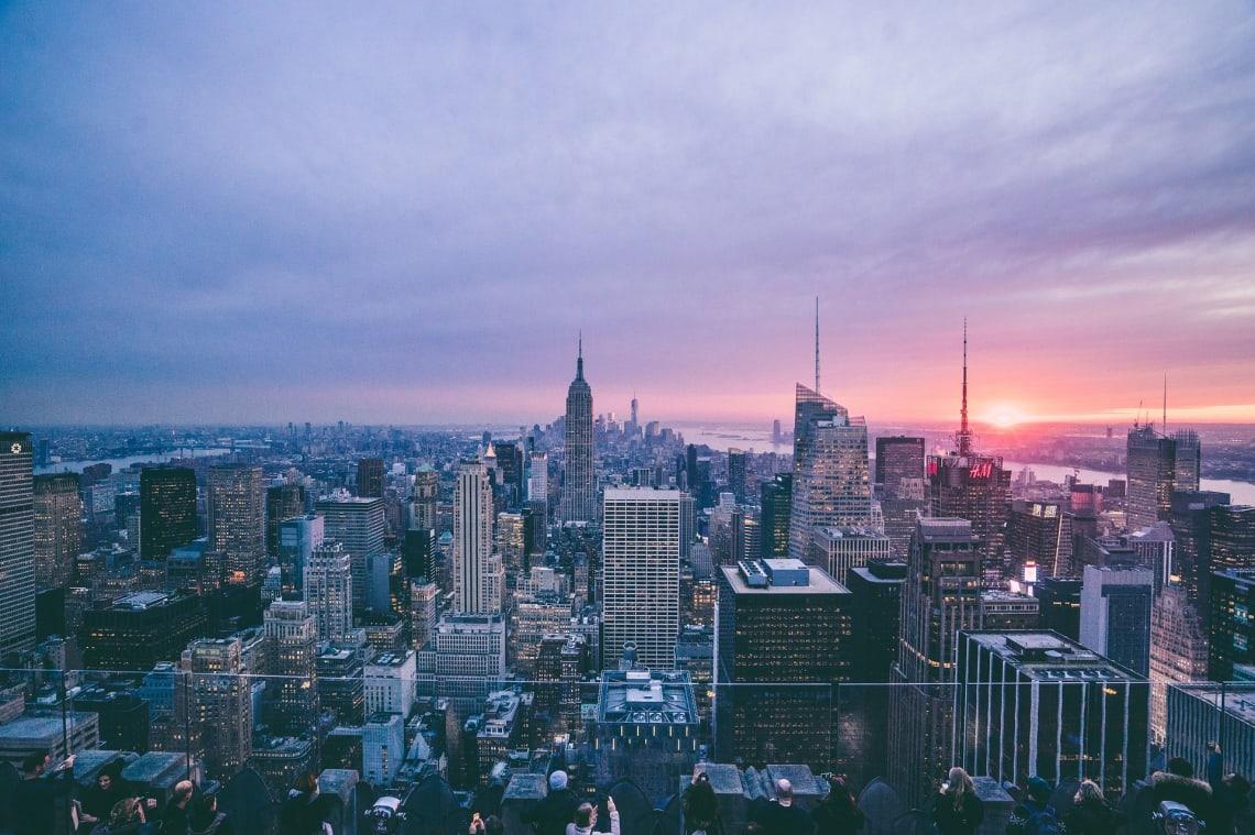 Cidade para viajar em casal: Nova Iorque