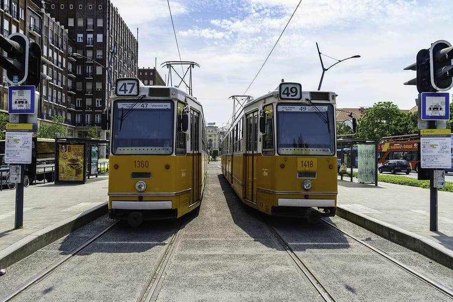 Trams de de Budapeste