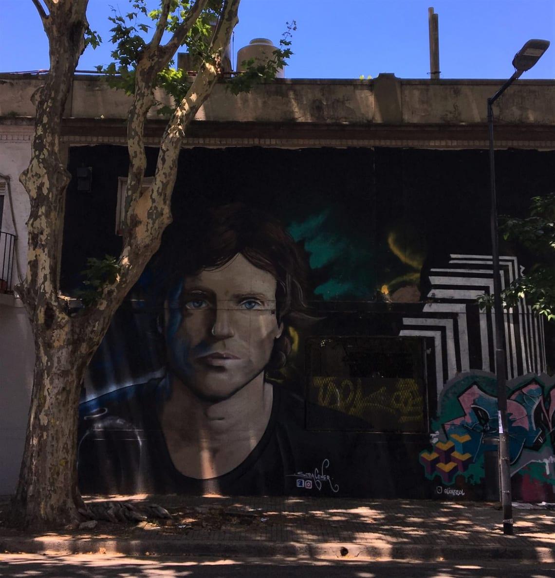 Mega guía para viajar a Buenos Aires: todo lo que debes que saber - Worldpackers - grafiti en calle de palermo