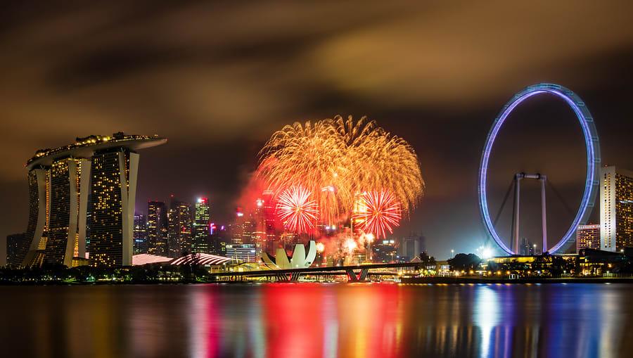Festivais típicos da cultura asiática: ano novo chinês em Cingapura
