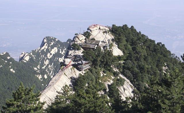 Montanhas na Ásia:Huashan, China