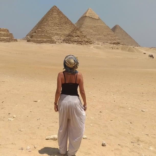 Lisiane no Egito