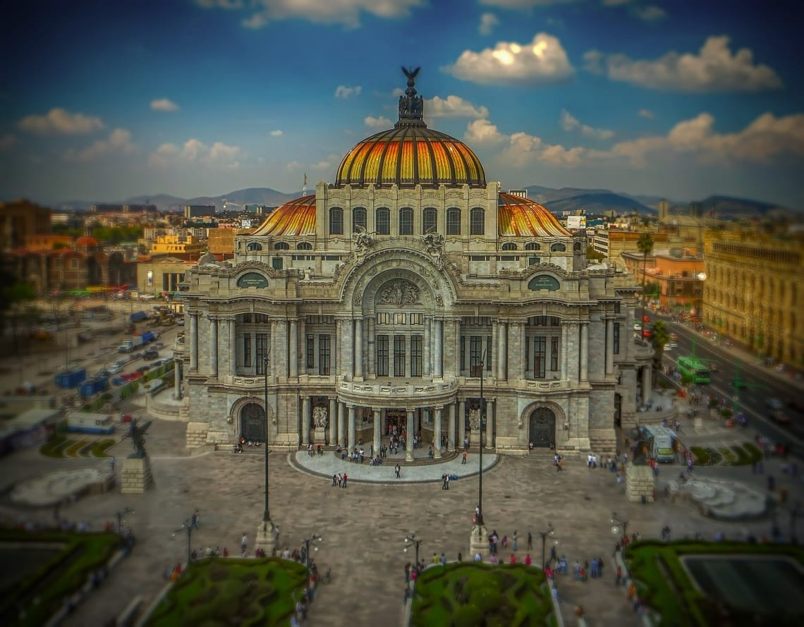 Palacio de Bellas Artes, Mexico City, Mexico.