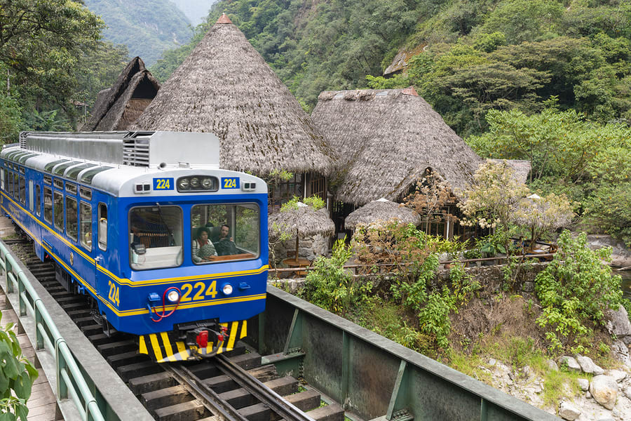 Como chegar de trem em Machu PIcchu