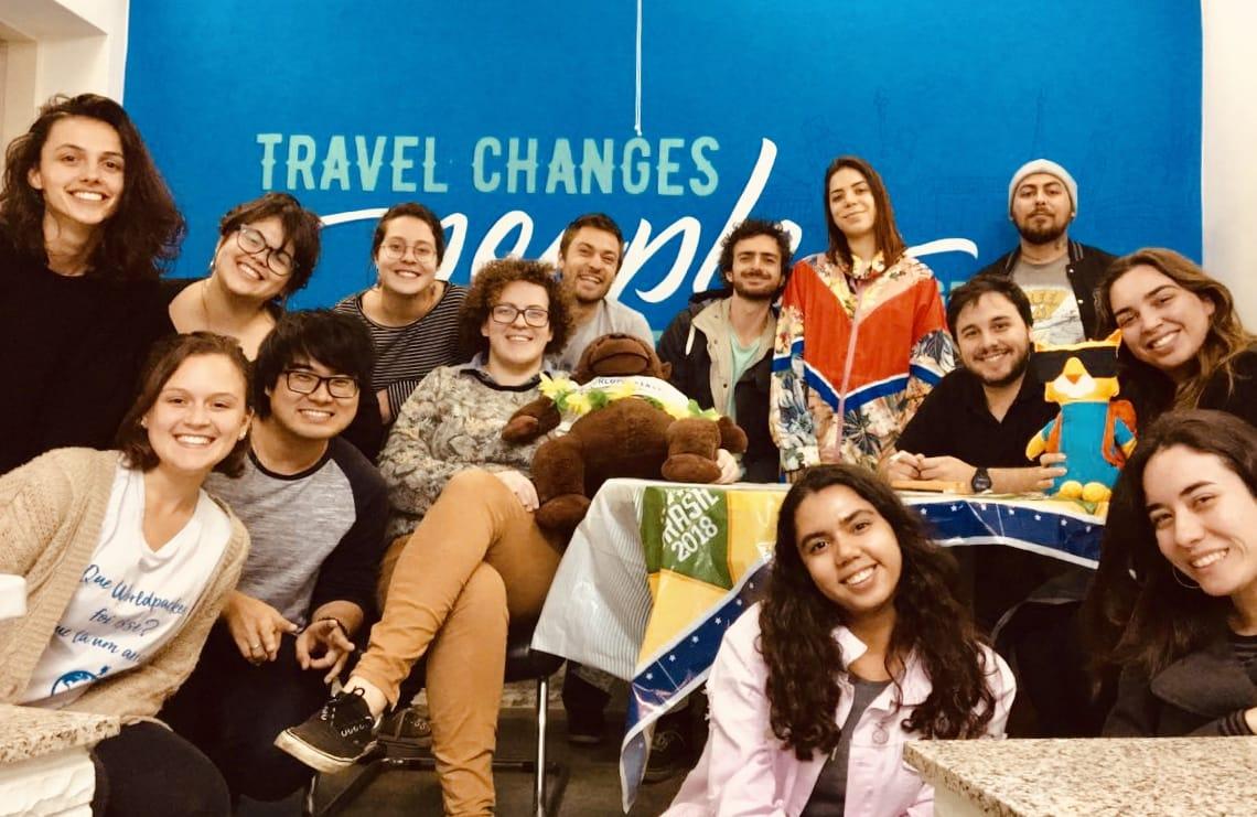 Worldpackers Team in São Paulo Headquarters