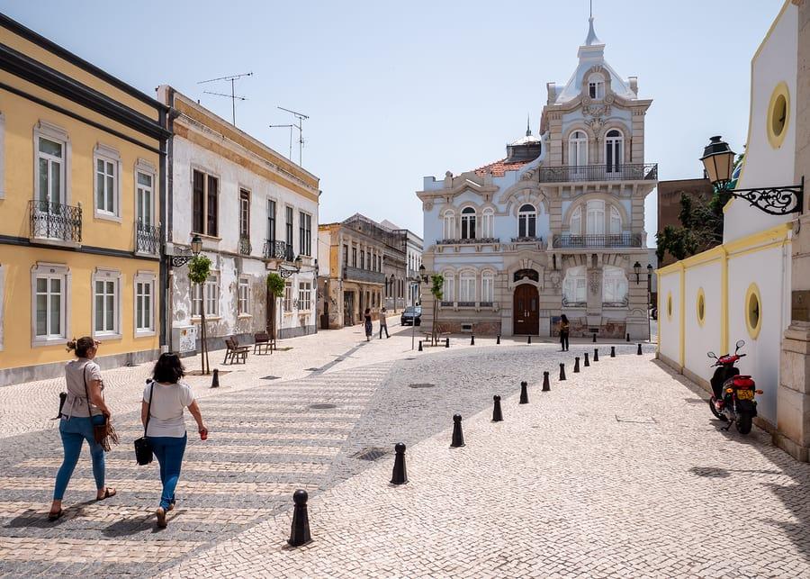 Faro, sul de Portugal