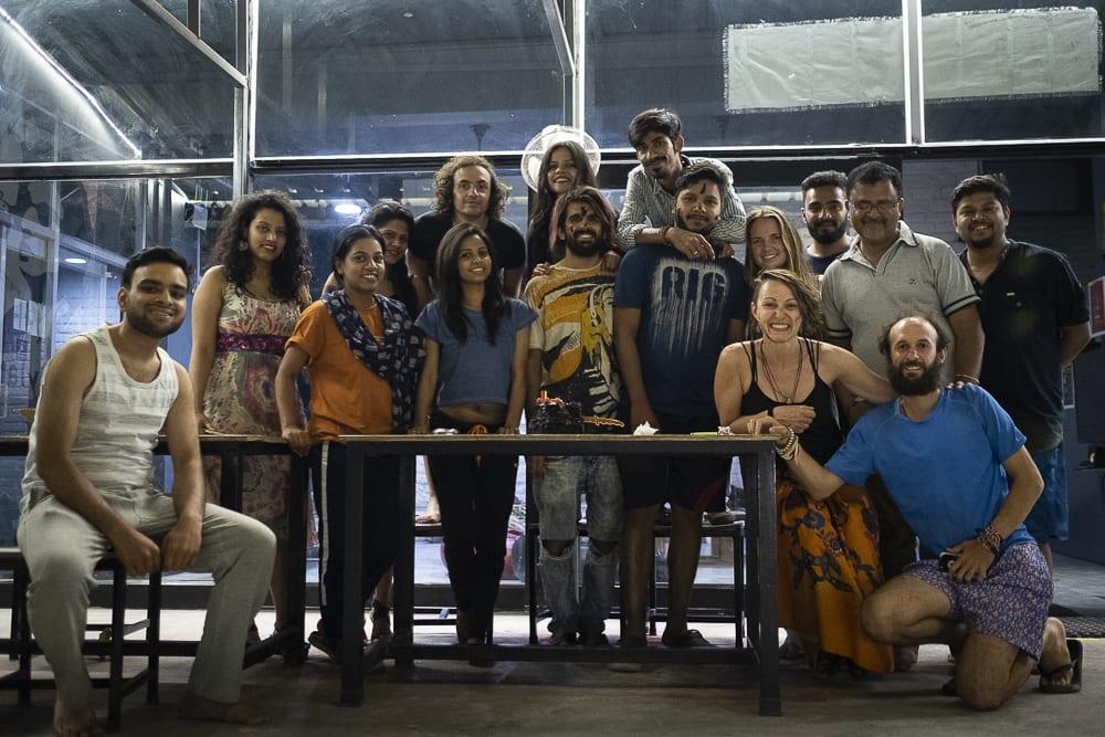 17 días haciendo un voluntariado en India, en la capital mundial del yoga: Rishikesh - Worldpackers - viajeros en el hostal Bunk hostel en rishikesh, India