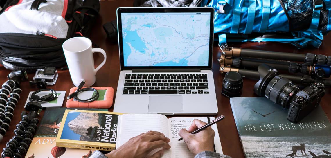 Digital nomad packing tips