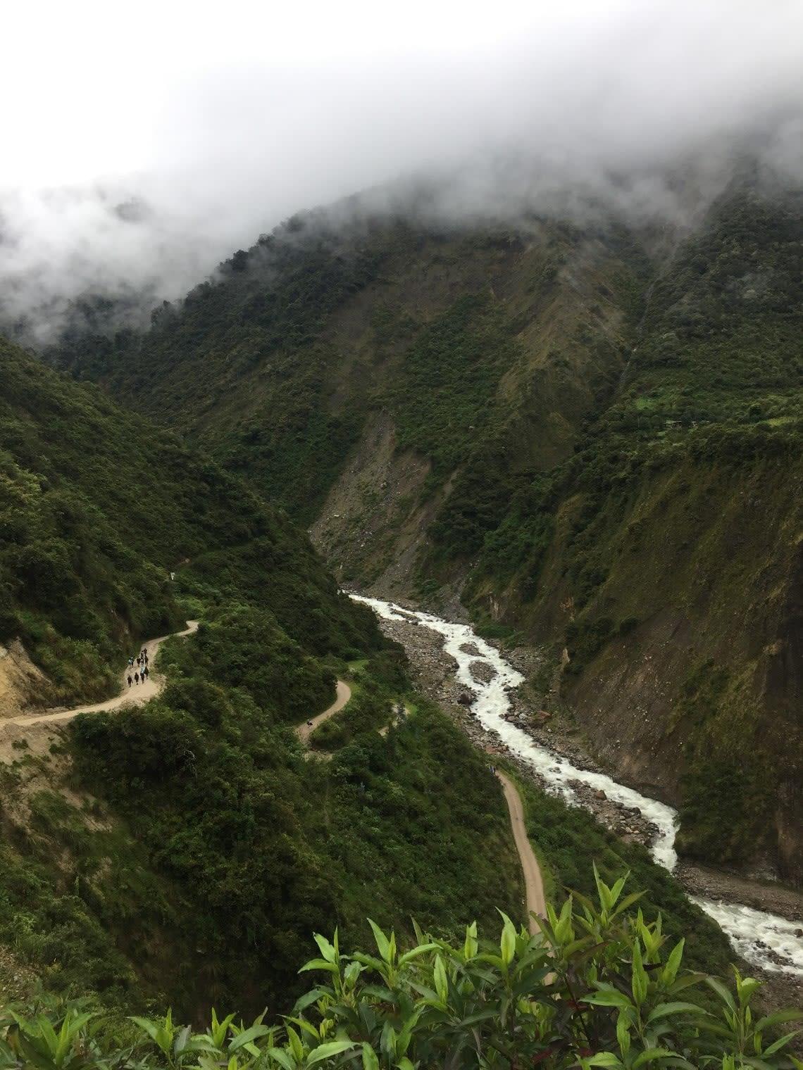 Salkantay Pass, Andes Mountains, Peru
