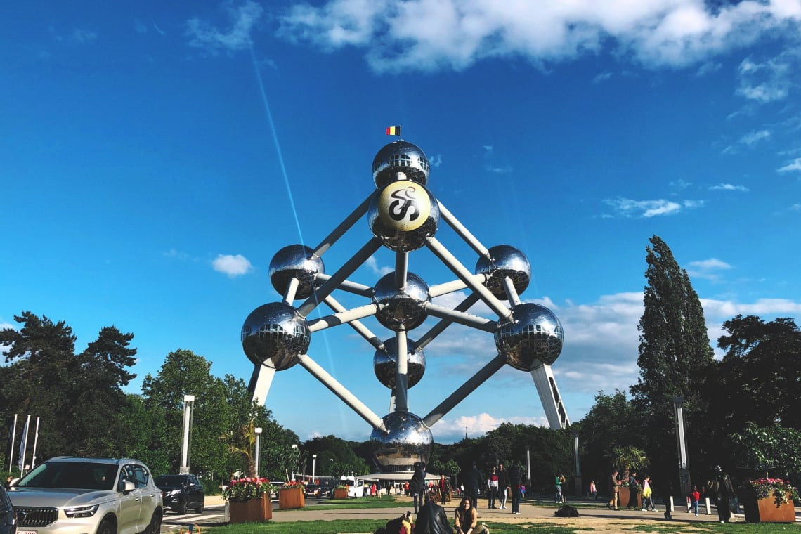 Places to visit in Brussels: Atomium