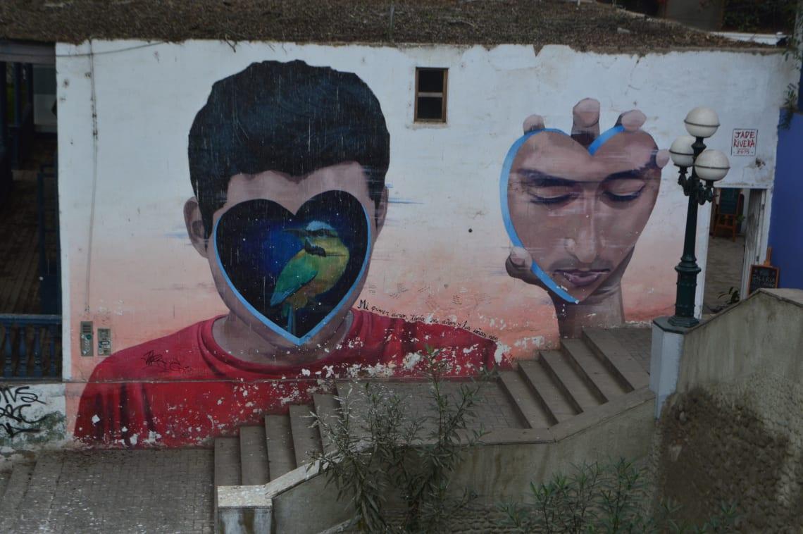 Ruta mochilera para visitar Perú: qué hacer y recomendaciones - Worldpackers - Barranco arte callejero