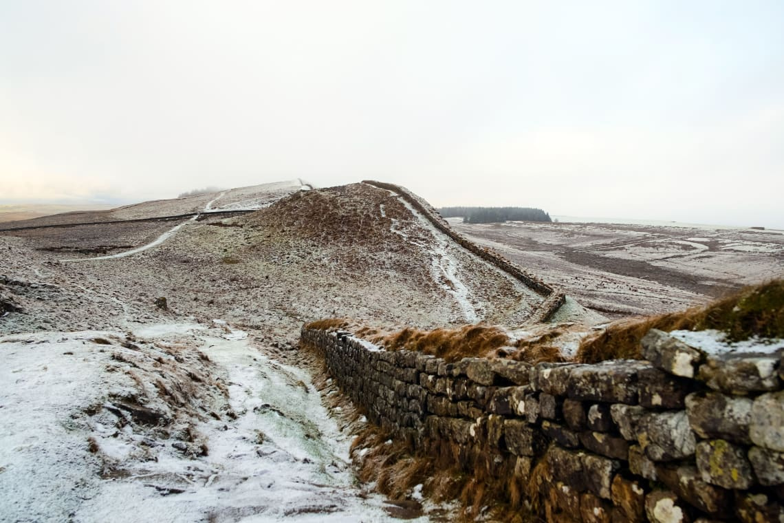 Hadrian's Wall Path, Brampton, United Kingdom