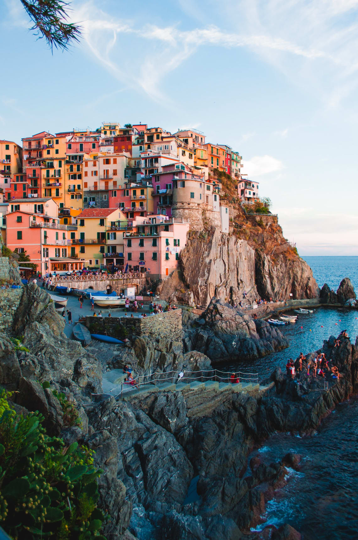 How to travel Europe on a backpacker's budget: Cinque Terre, Italy