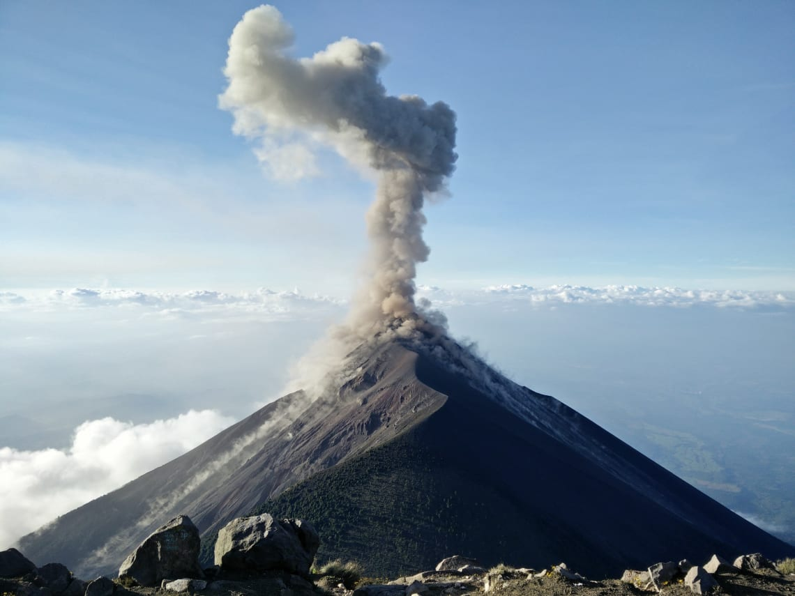 Fun things to do in Guatemala: hike a volcano