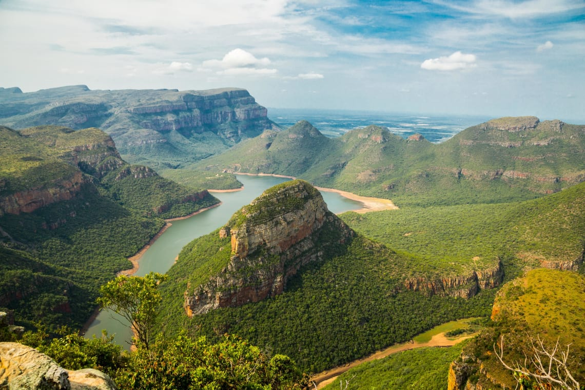 Panorama Route, Three Rondavels View Point, South Africa