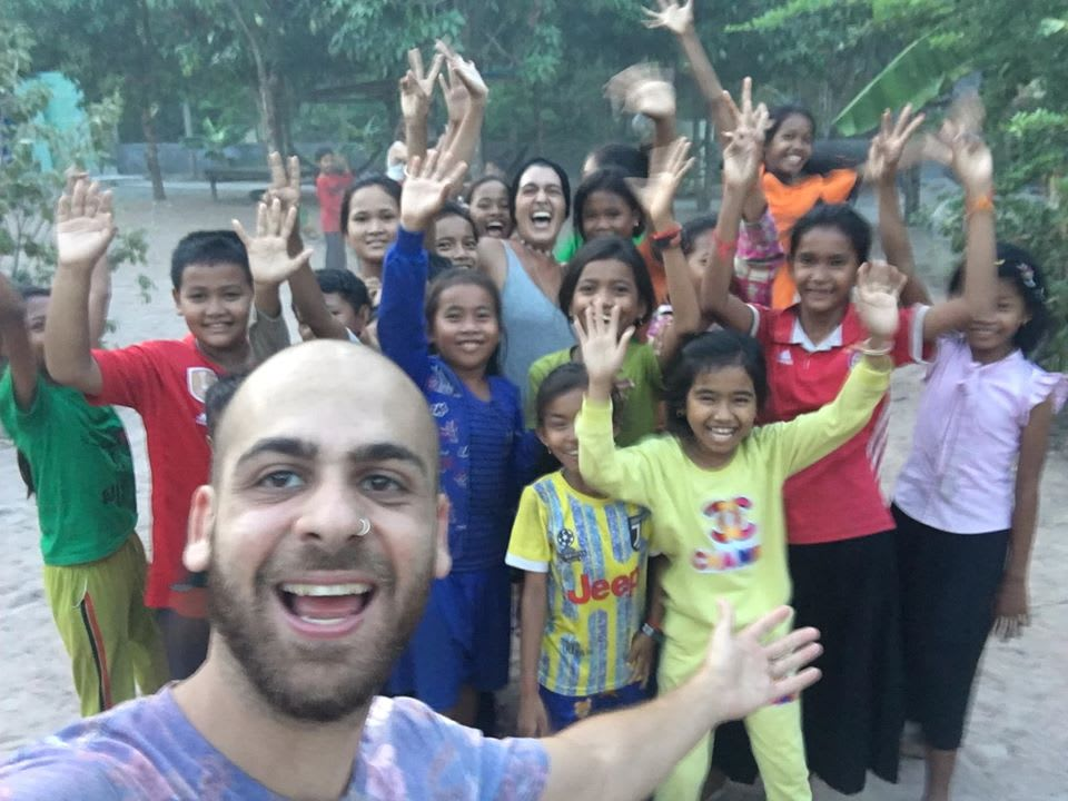 Volunteering with Worldpackers in Battambang, Cambodia