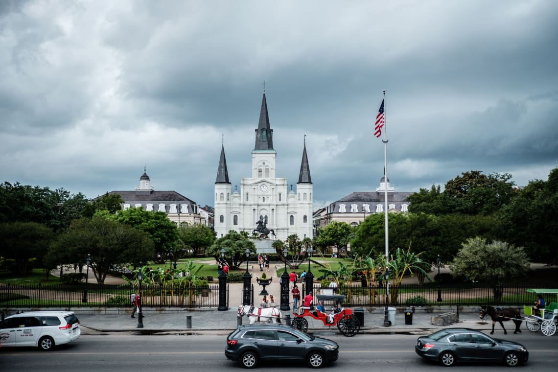 Best things to do in New Orleans: visit Jackson Square
