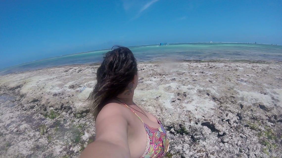 Praia no Quênia