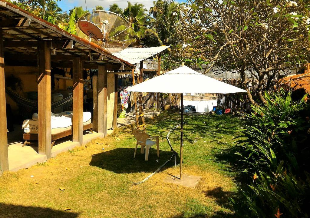 Estrutura do hostel em Pipa