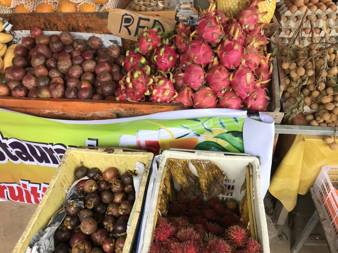 Exotic fruit in Thailand