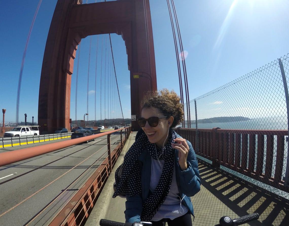 Dicas de São Francisco: Golden Gate de bike