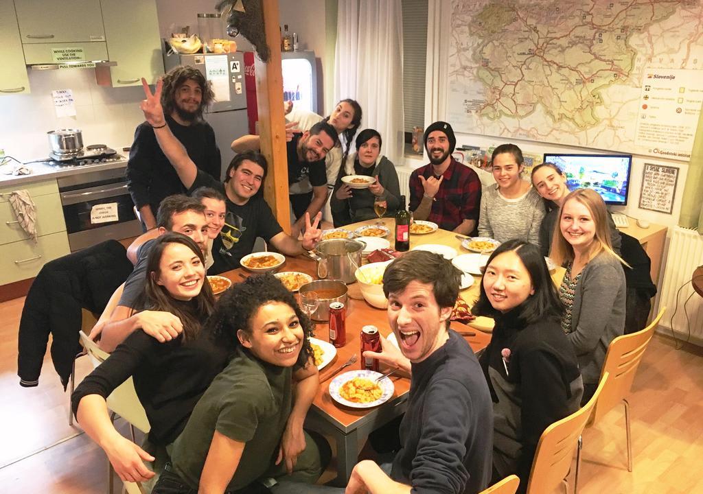 Los mejores anfitriones Worldpackers para voluntariar en el 2018 -Hostel Vrba - Liubliana, Eslovenia