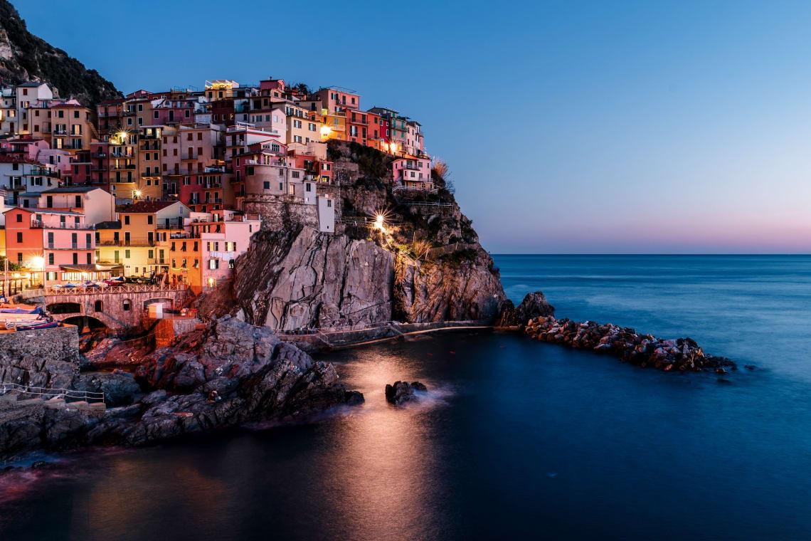 Italy destinations: Cinque Terre, Liguria