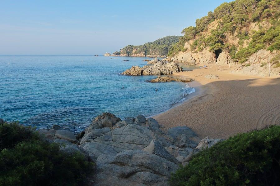 Cala Boadella, Lloret de Mar, Espanha