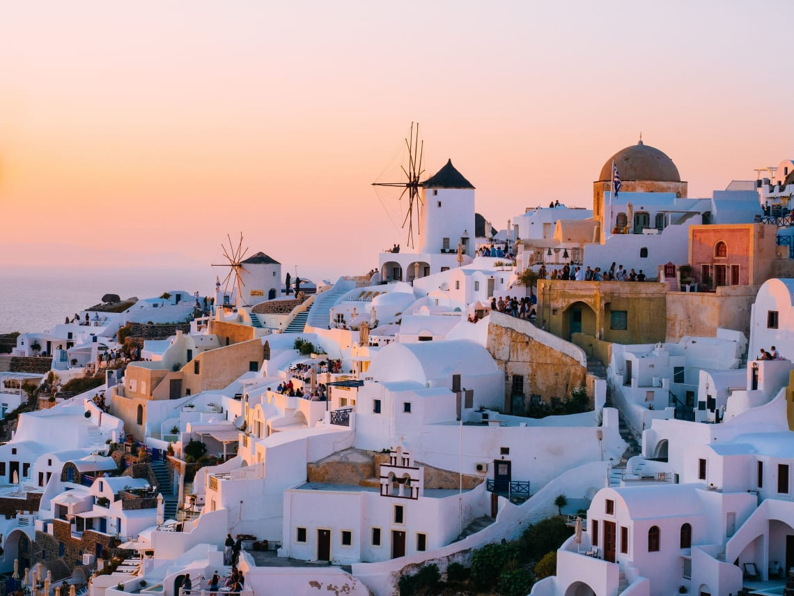 Oia, Greece, Europe