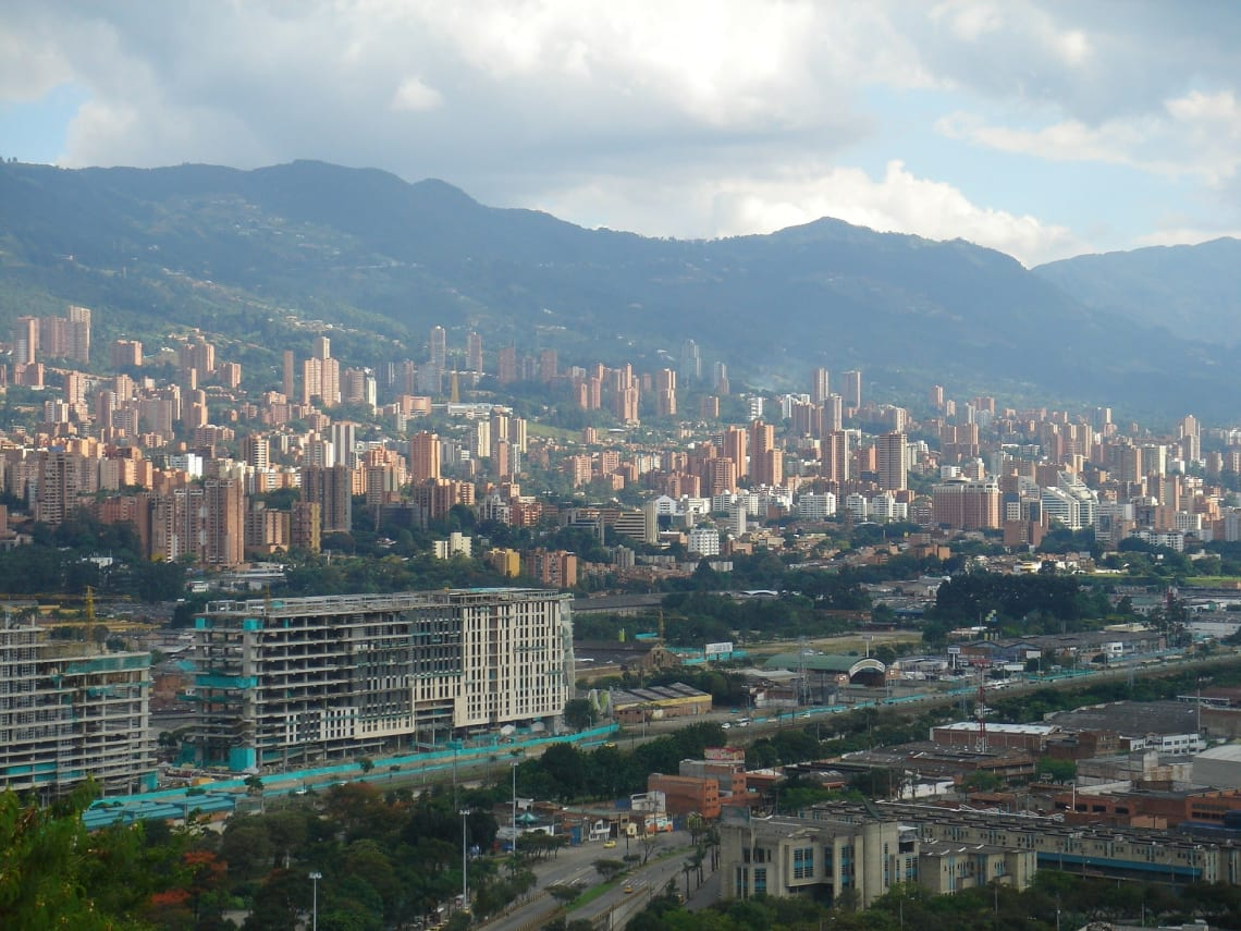 Medellin cityscape. Colombia.