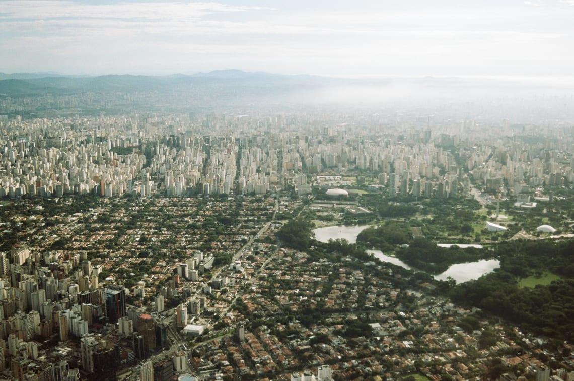 Views over Sao Paulo, Brazil