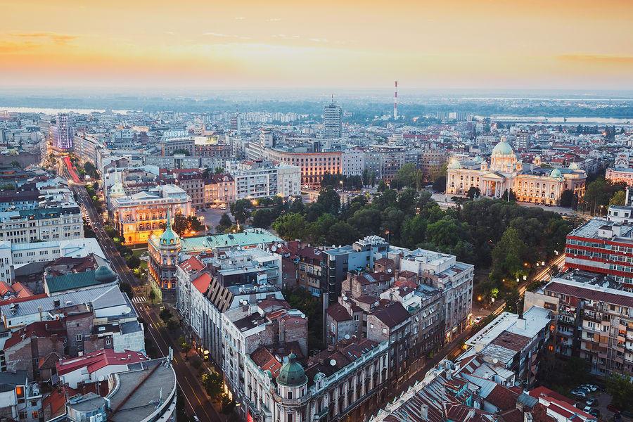 Cidades baratas para viajar na Europa: Belgrado.