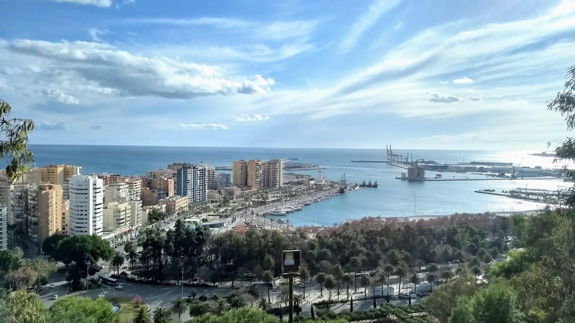 Os 5 melhores destinos da Europa para fugir do inverno: Málaga