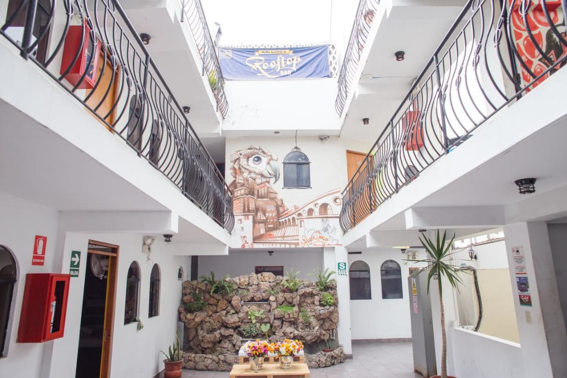 Hacer un voluntariado en un party hostel: mi experiencia en Lima - Worldpackers - loki hostel en Lima - Perú