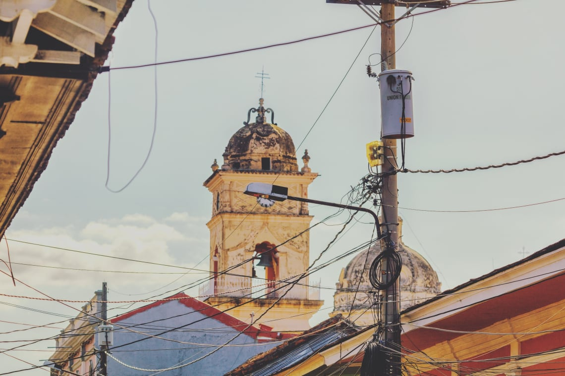 Colonial views, Nicaragua