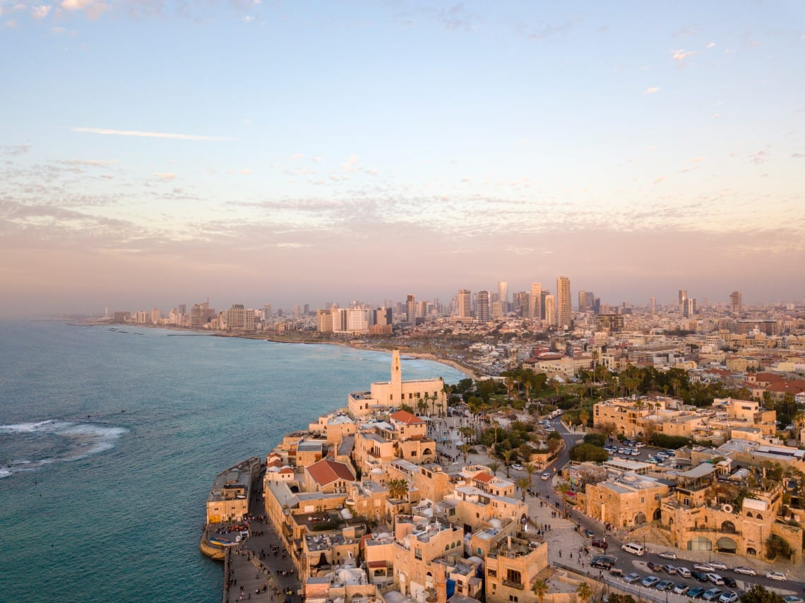 Work and travel in Tel Aviv, Israel