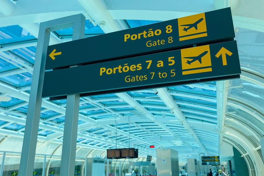 Placas de aeroporto