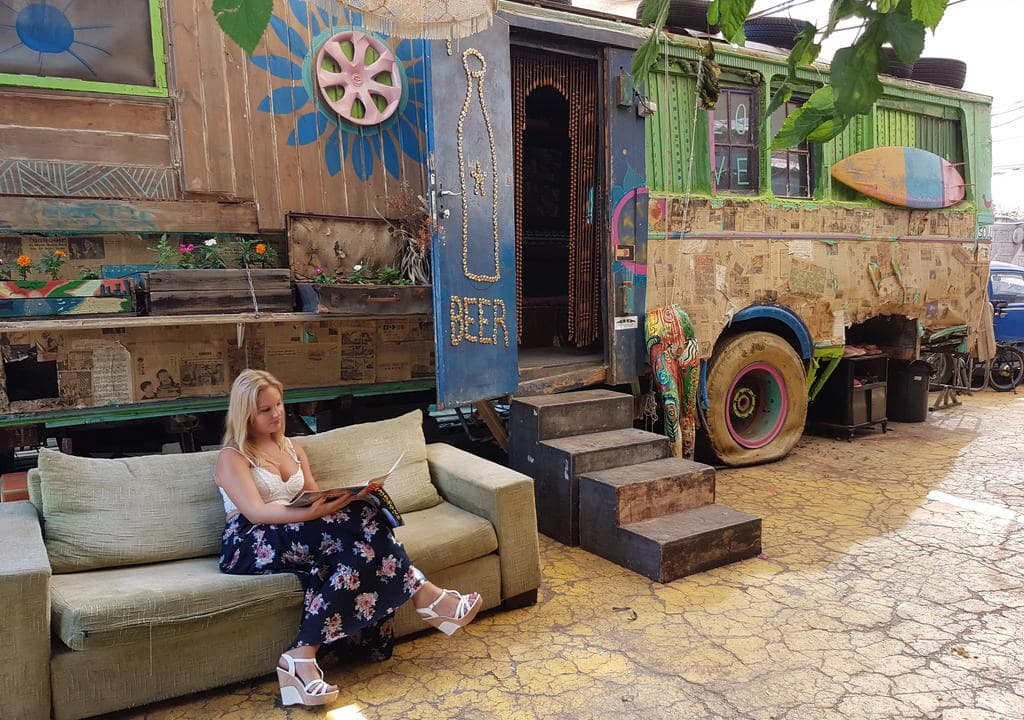 Learn to bartend at Overstay Hostel, Tel Aviv, Israel