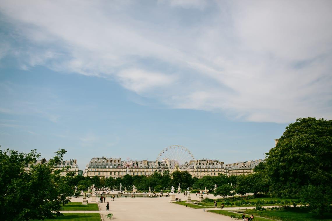 The Tuileries Gardens, Paris, France