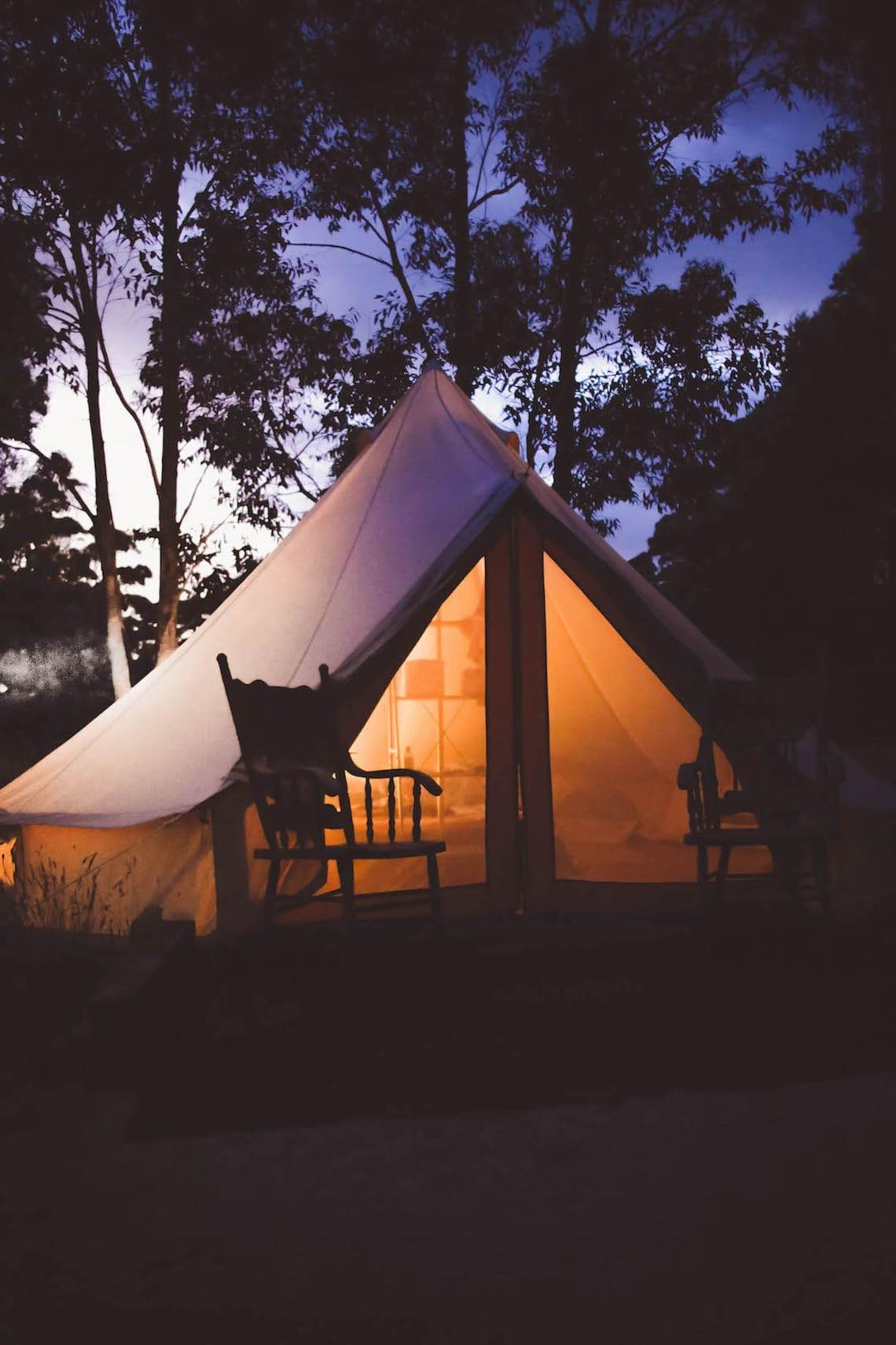 Glamping, Australia