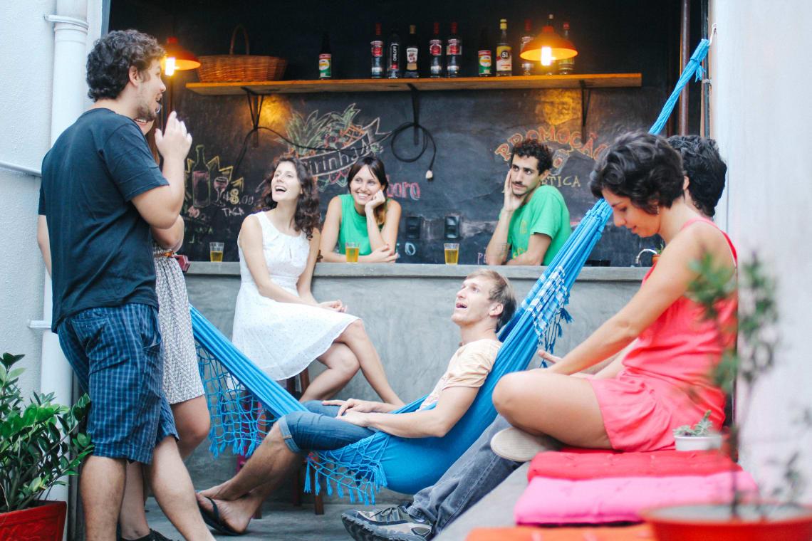 cafe hostel in sao paulo brazil